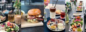 Et lækkert udvalg af mad, café roskilde, Trekroner
