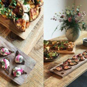 Catering menu café Freunde Roskilde