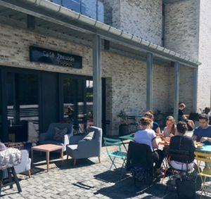 Café Freunde udendørsservering
