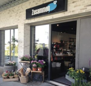 Besøg Zusammen, lige ved Café Freunde i Roskilde