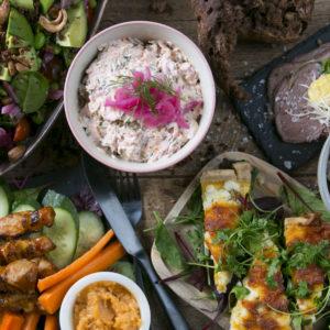 Frokost menu hos Café Freunde