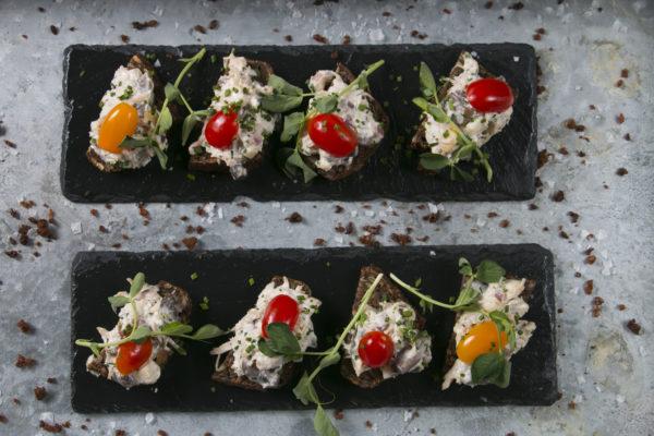 Hønsesalat på Rugbrød, Café Freunde