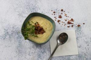 Kartoffelporre suppe