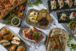 Reception, menu, catering Roskilde, mad ud af huset