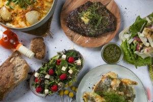 Sommermenu samlet stor, Café Freunde i Roskilde