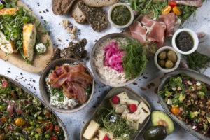 Stor tapas anretning, Café Freunde i Roskilde
