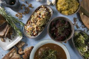 Vintermenu samlet stor, mad ud af huset Roskilde
