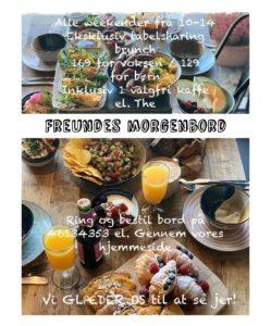 Café Freundes Morgenbord, lækker brunch