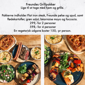 Freundes Grillpakke, Café Roskilde