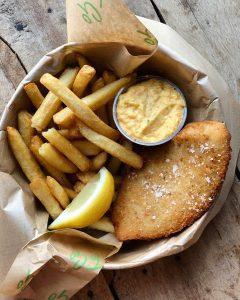 Fish and Chips, Café Freunde Roskilde