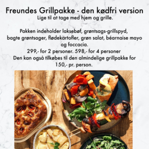 Freundes grillpakke, kødfri version