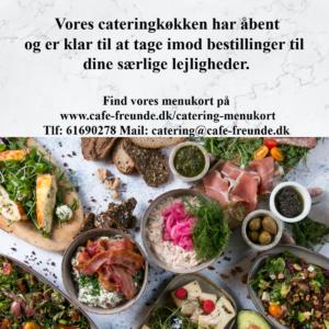 Café Freunde catering menukort