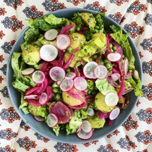 velsmagende og sund salat café freunde roskilde
